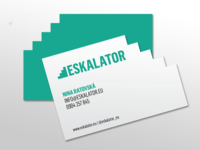 Eskalator Business Card