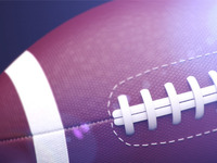 American football ball (light test)