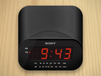 Clock Radio iOS Icon
