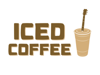 Iced Coffee (Cover Band) Logo