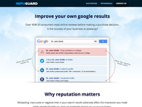 Repuguard.co Landing Page