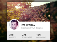 Instagram Profile Widget