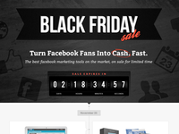 Black Friday - Facebook Tools Sale