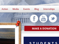 Campus Student Political Website