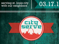 City Serve Logo and Poster Announcement