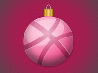 Rebound: Dribbble Ornament
