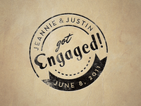 Engagement Stamp