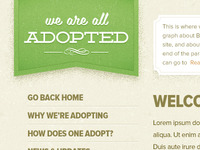 We Are All Adopted