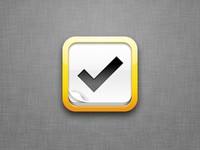 iOS Icon for Tasks App