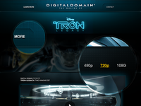 Tron Legacy Press Site
