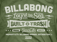 Billabong Leftovers - Type Tee