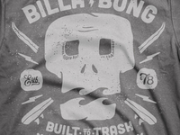 Billabong Leftovers - Skull Tee