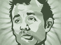 Carl Spackler / Bill Murray Tee