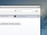 iMessage Redesign