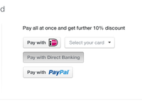 "Pay with <strike>Paypal</strike> ""The Devil""."