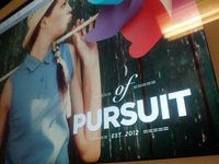 Of Pursuit - pet project