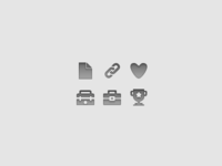 Monochrome Icons