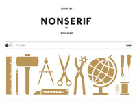 NONSERIF - tools