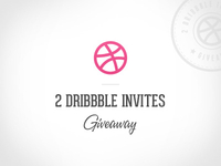 2 Dribbble Invites Giveaway!!!