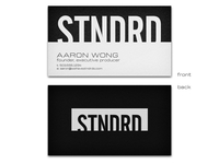 STNDRD Business Cards