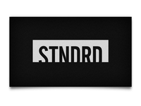 STNDRD Business Cards Back