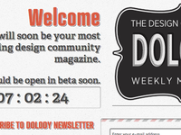 Dolody - A weekly Design Magazine finally goes Live!