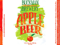 Buckman Apple Beer (cropped)