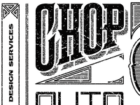 CHOP BLOK LABEL