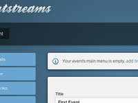 Eventstreams Admin