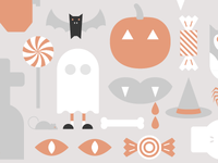 Halloween Desktop Background WIP