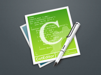 New CotEditor Application Icon