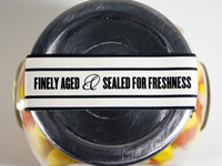 Finely aged & Sealed for freshness