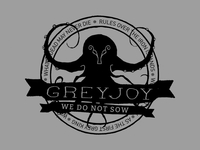 Game of Thrones Modern Badge: Greyjoy