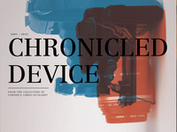 MOCP / Chronicled Device Newspaper / 01