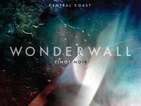 Wonderwall / Pinot Wine Label