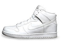 High Top Dunk: Blank Slate