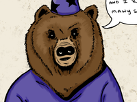 Wizard Bear