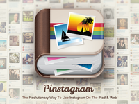 Pinstagram App Main Screen
