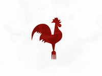 logo concept for Roost, a farm fresh eatery