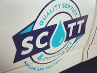 Scott & Co. Truck graphics