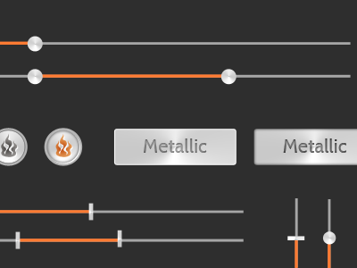 Metallicorangedribbble