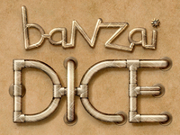 Banzai Dice iPhone Game Logo