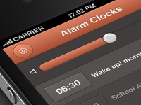 Alarm Clock iPhone App