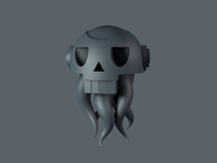 Alien Skull Craft