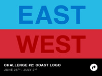 East Coast vs West Coast Challenge 2: Coast Logo