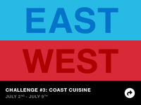 East Coast vs West Coast Challenge 3: Coast Cuisine