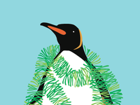 Tinsel Penguin