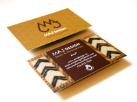 MAJ Business Cards