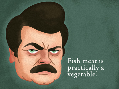 Ron Swanson – Quotes and Memes of a Meat-Eating Man – High ...
