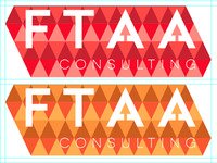 FTAA Logo: Warm Color Scheme